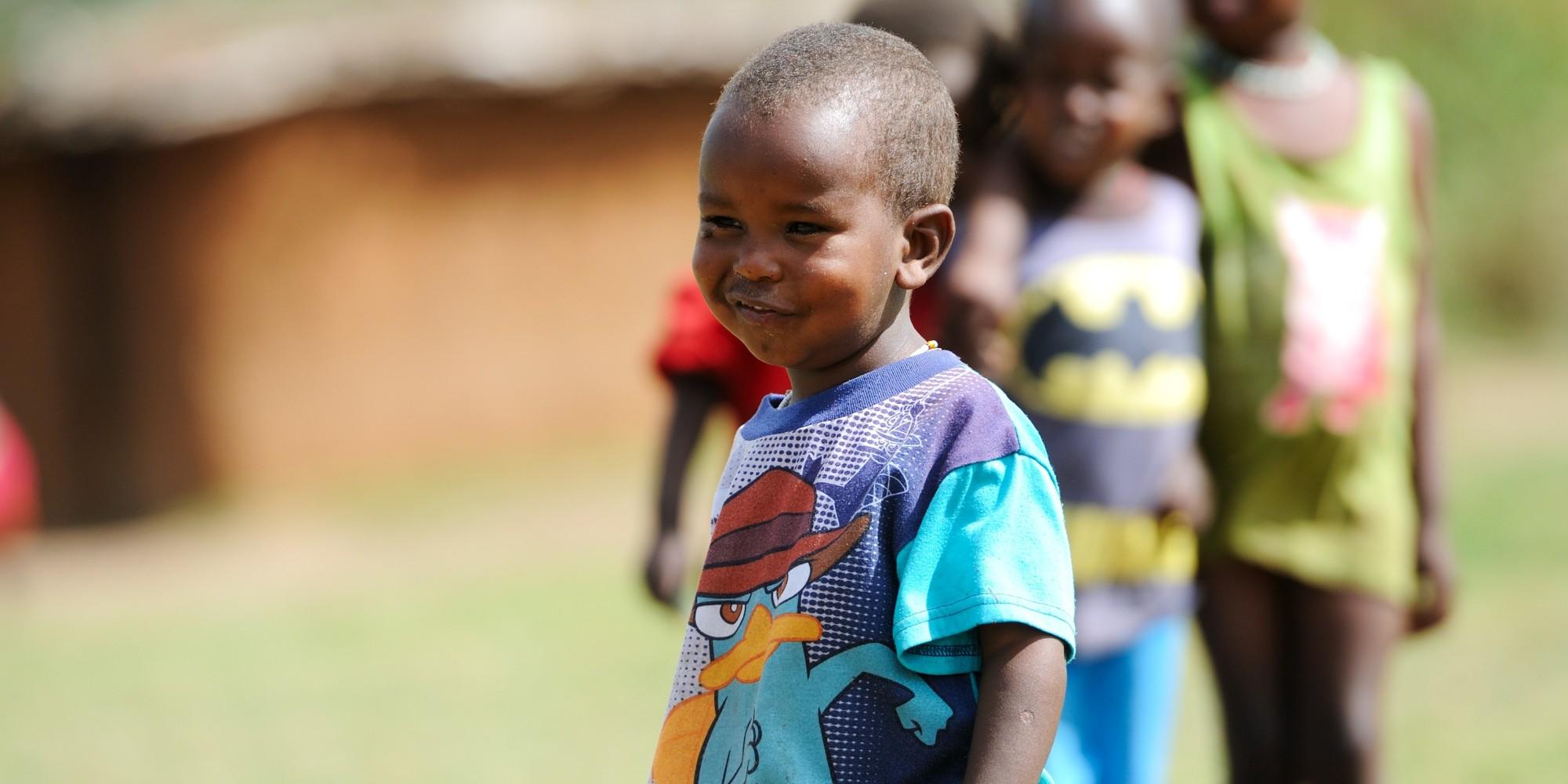 Poor African Children Fighting African Energ...