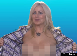 WATCH: Topless Reporter Is Back.. With A Special Guest!