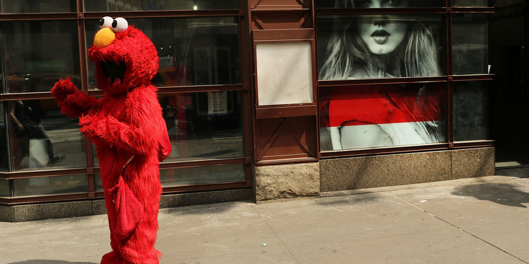 Elmo Sentenced To Jail As Times Square Characters Raise