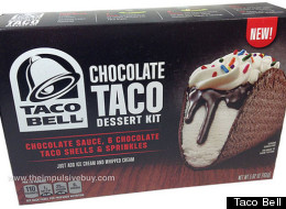 Taco Bell's DIY Chocolate Taco Kit Hits Shelves