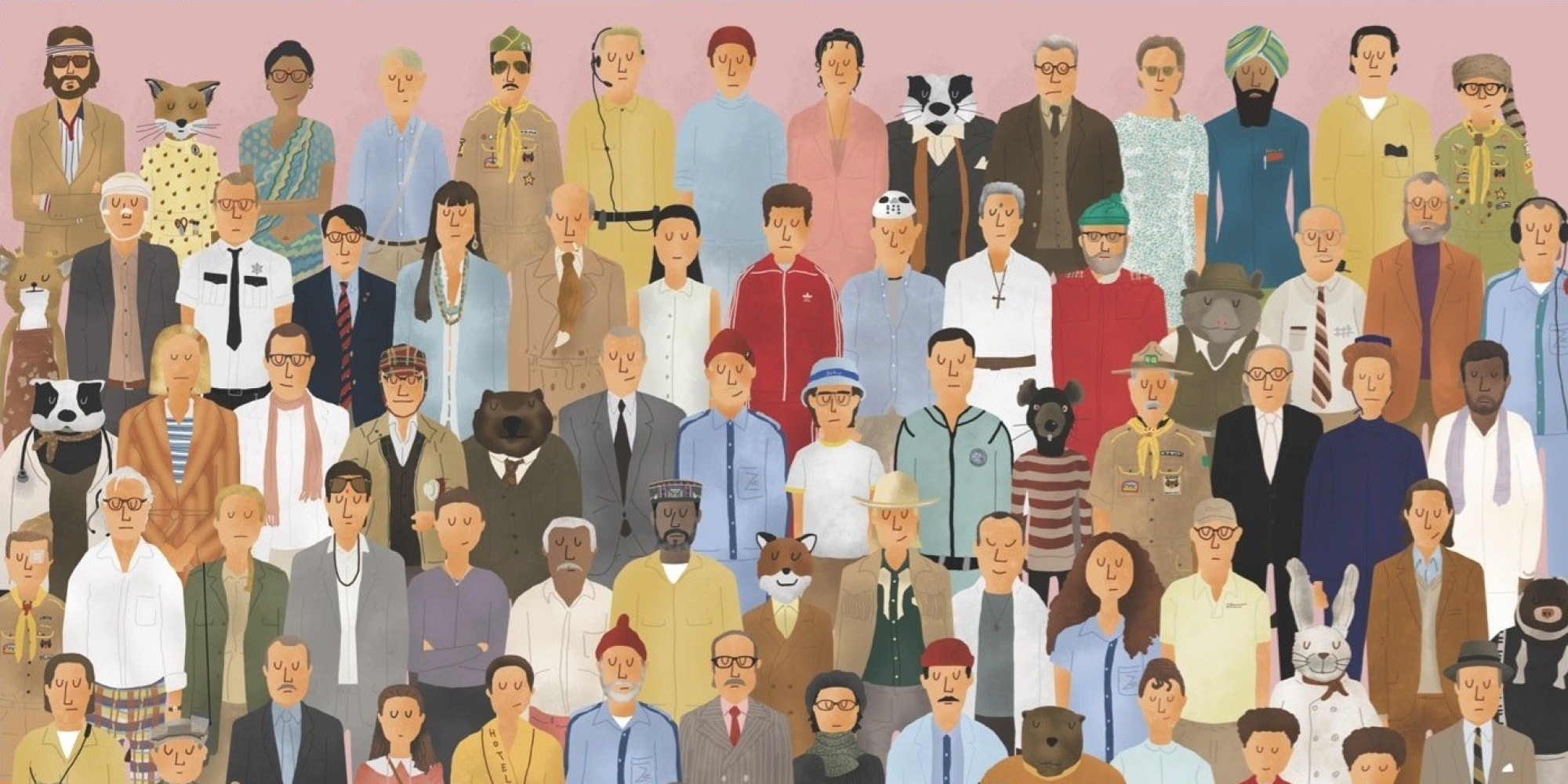 Character Design Jobs Australia : Awesome art from new wes anderson book images huffpost