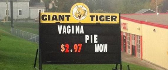GIANT TIGER VAGINA PIE