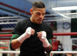 Gay boxer fights for world title