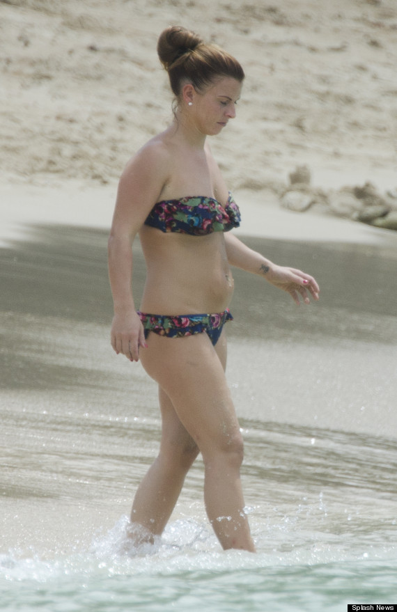 Coleen Rooney Shows Off Her Post Baby Figure And Weight
