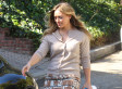 Hilary Duff's Short Skirt, High Boots Combo Is Perfect For Fall