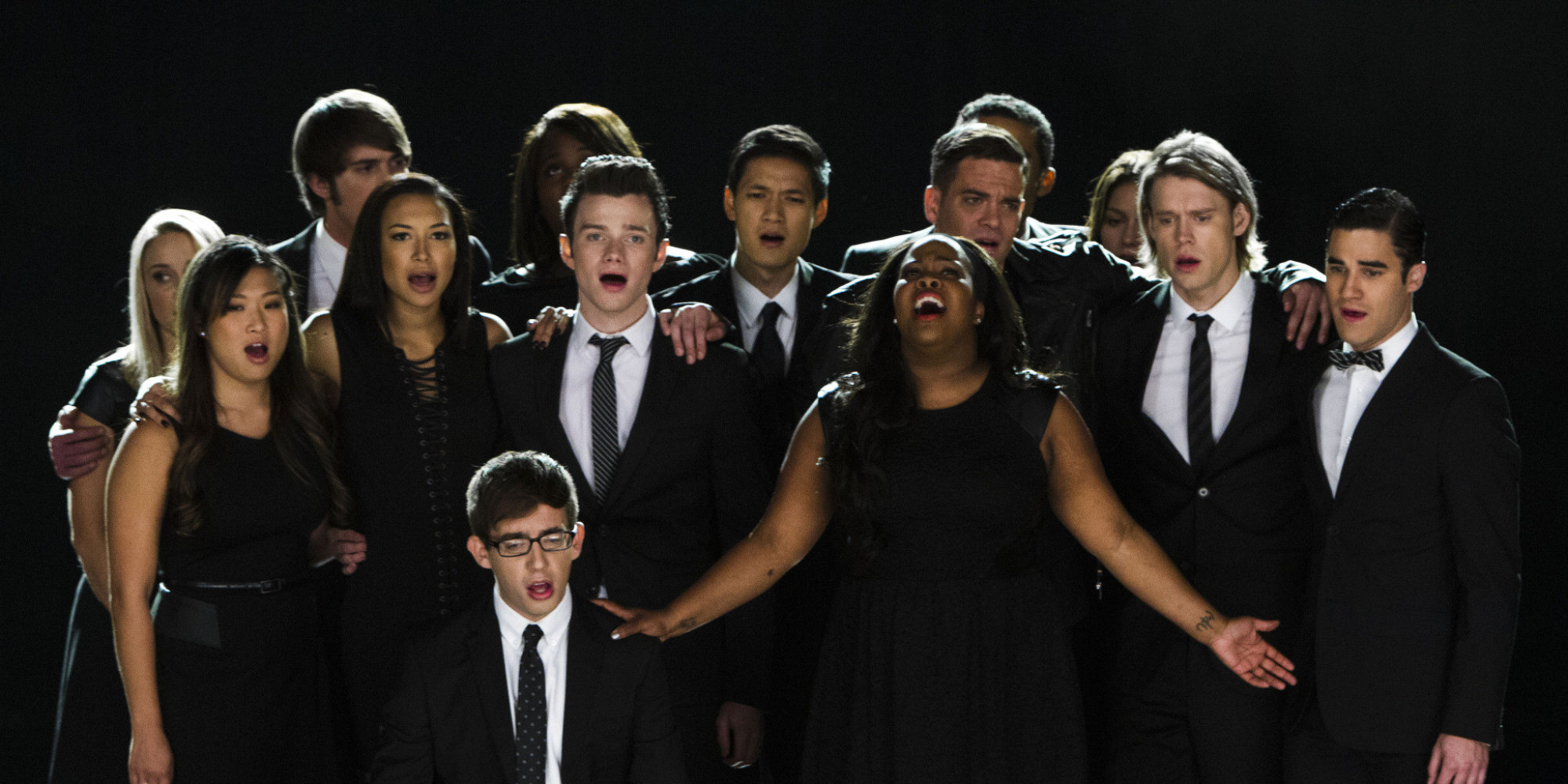 'Glee' Cast Records PSA, Pays Respects & Thanks Fans ...