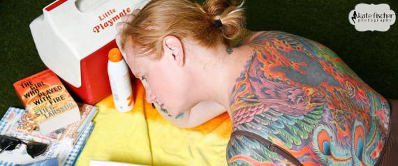library tattoo 3