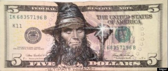 Defacing Currency: Illegal Activity