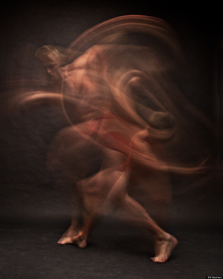 Bill Wadman's Dizzying Portraits Of Dancers In Motion ...