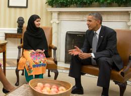 Obama Malala Yousafzai