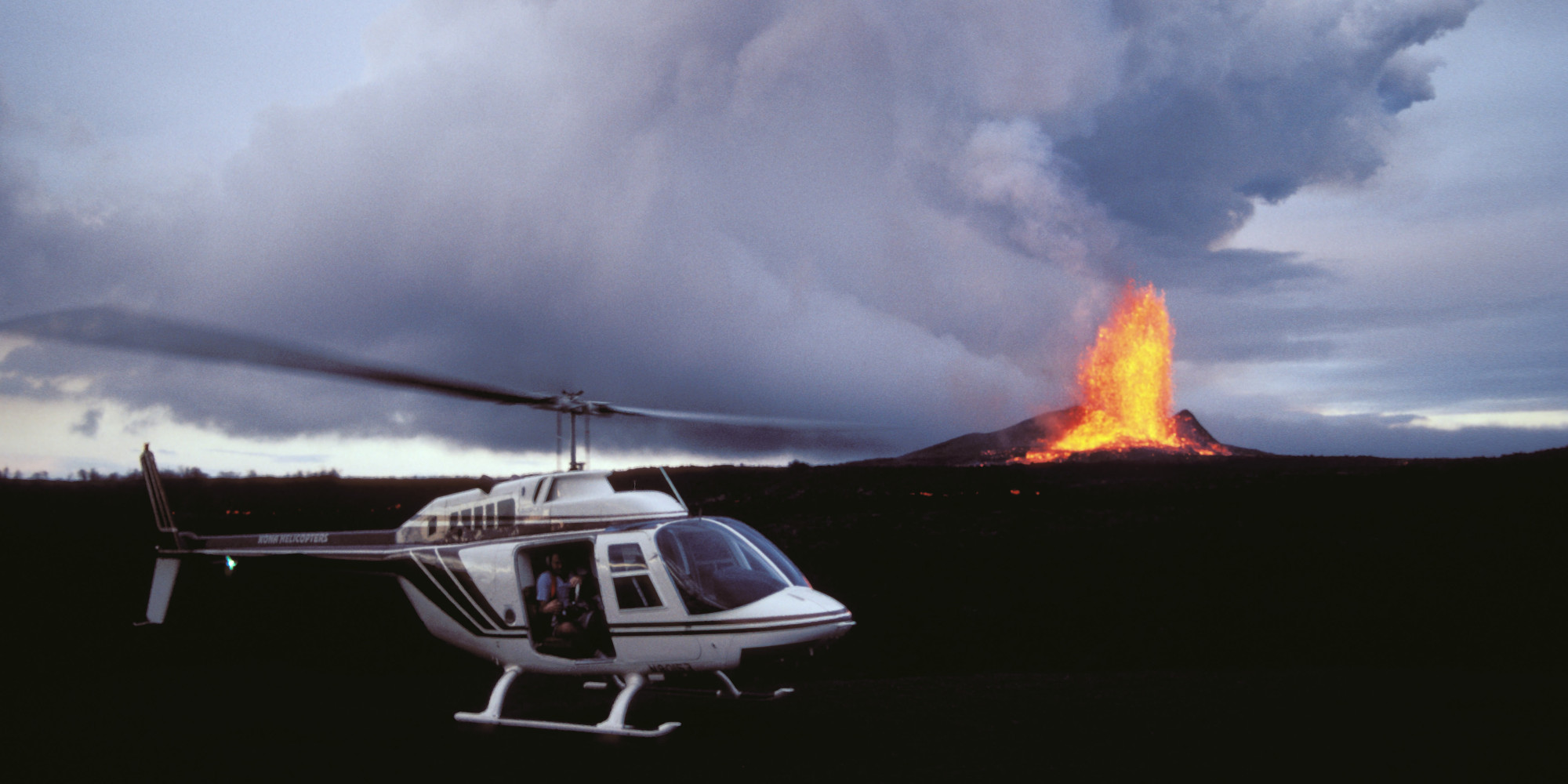 Government Shutdown Gives Boost To Helicopter Tours On The Big Island  HuffPost