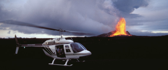HELICOPTER VOLCANO HAWAII