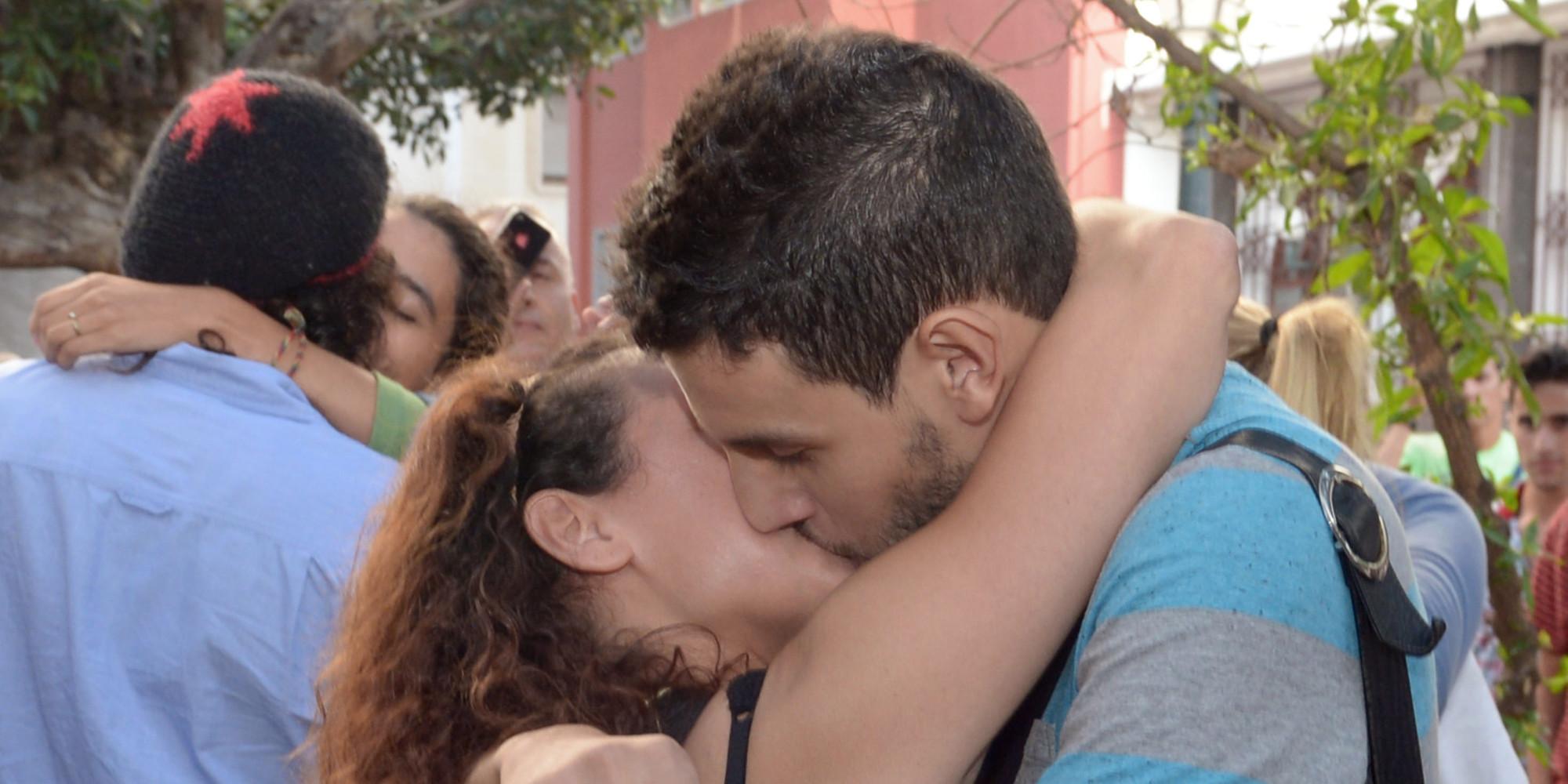 Les adolescents veulent baiser
