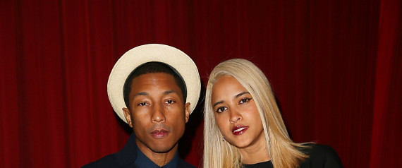 They look good together: Artiste, Pharrell Williams and model, Helen Lasichanh say 'I do' in star studded ceremony