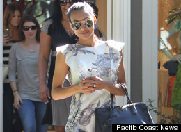 Naya Rivera Is All Legs As She Goes Wedding Dress Shopping In LA