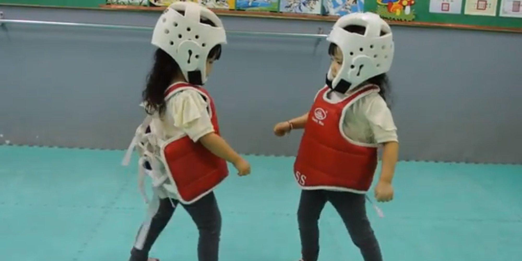 Taekwondo video