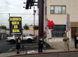'Jesus Christ' Challenges AIDS Walk Los Angeles Anti-Gay Protesters