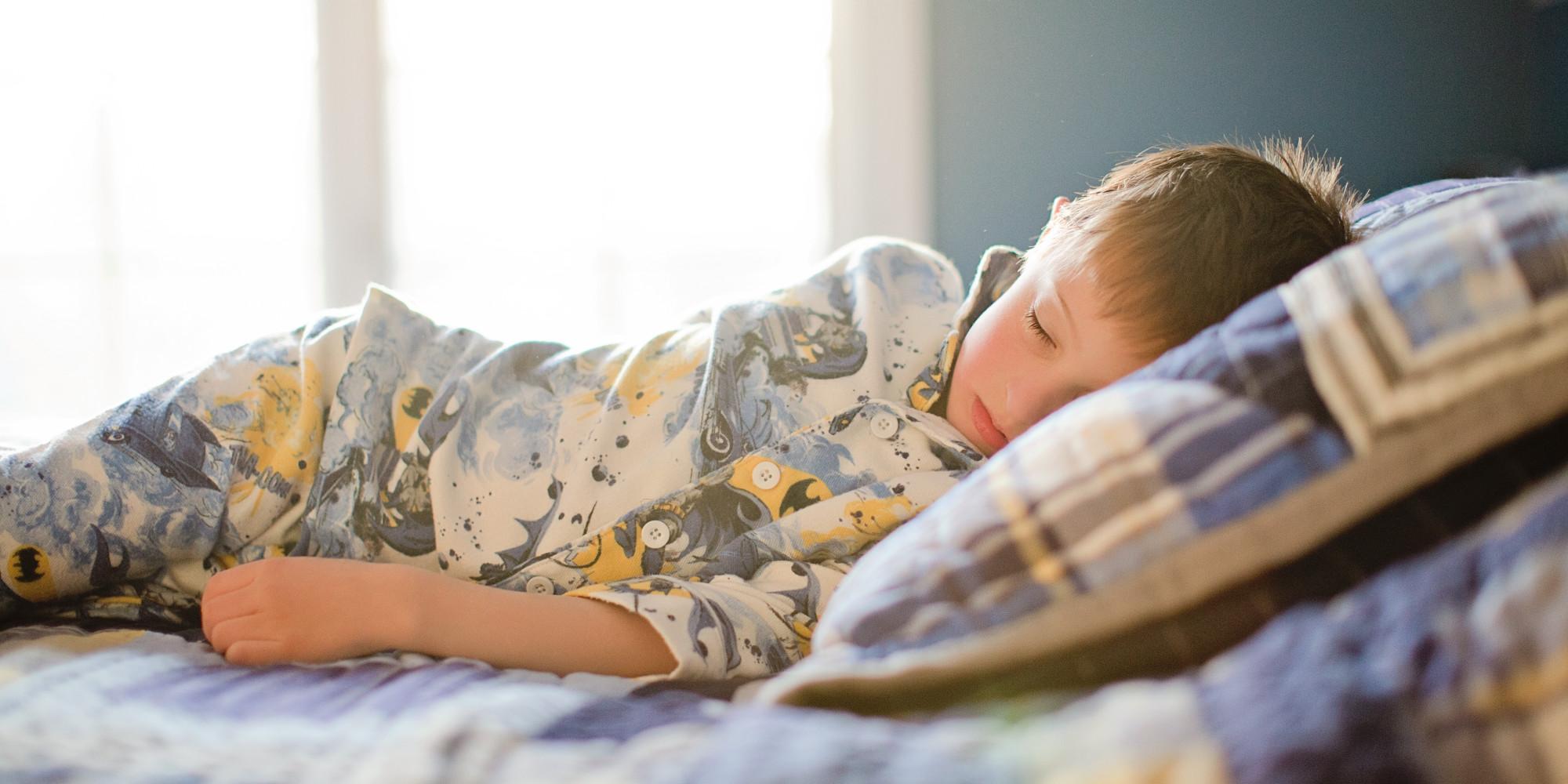 寝相が悪い 子供 原因