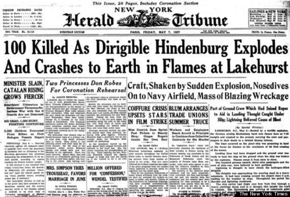 international herald tribune front page