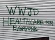 New Hampshire GOP Headquarters Vandalized With 'Healthcare' Message