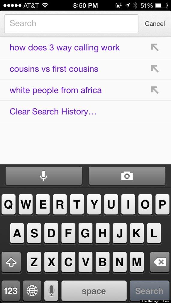 karen google history