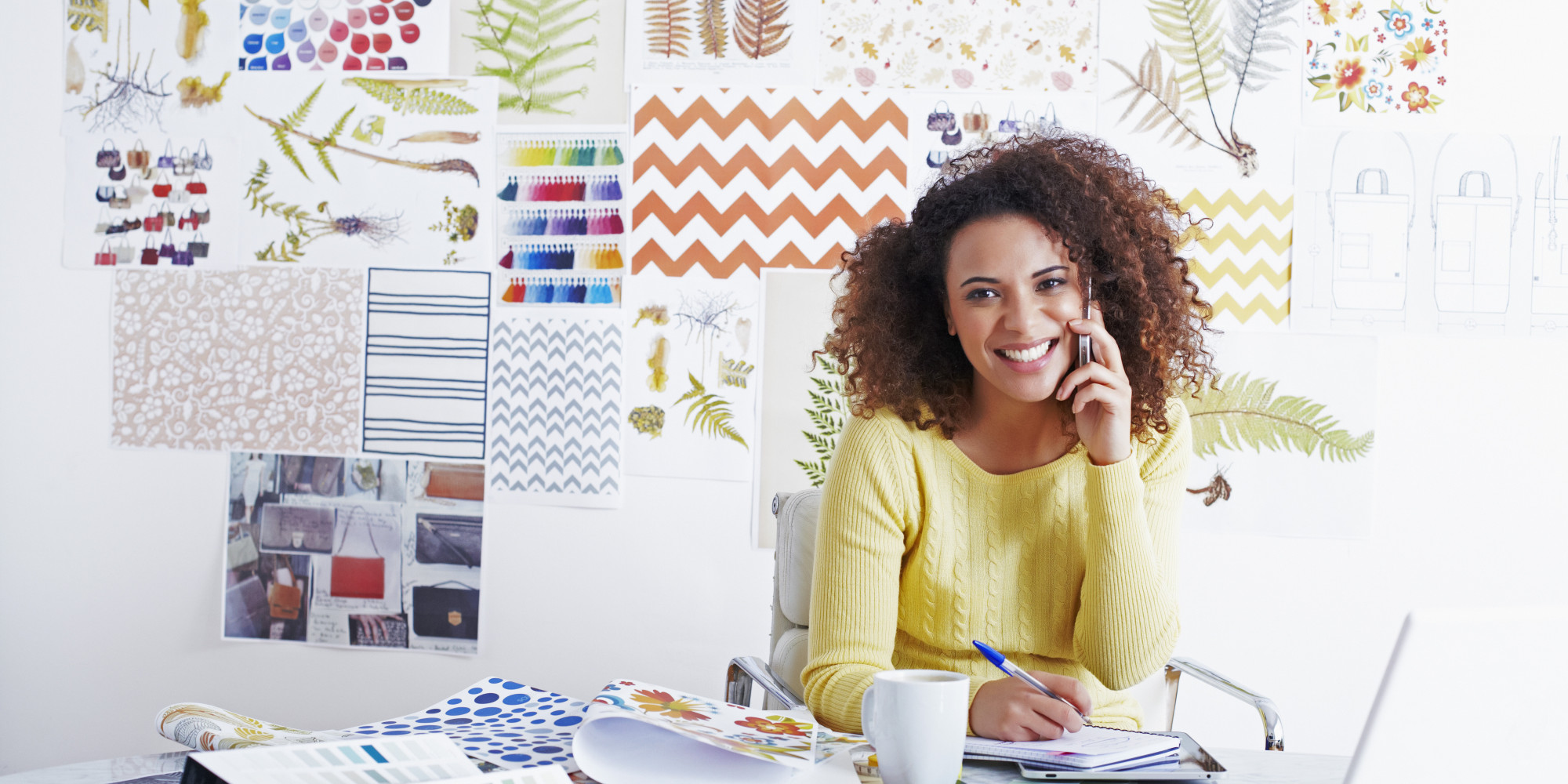 Awe Inspiring 5 Tips For Working From Home The Huffington Post Largest Home Design Picture Inspirations Pitcheantrous