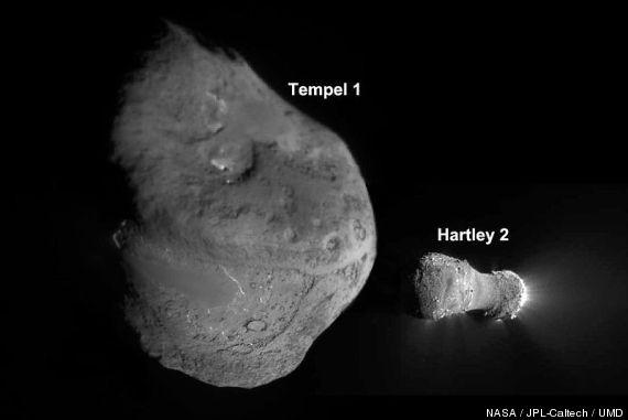 comet nuclei