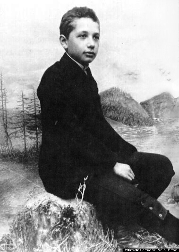 albert einstein teenager