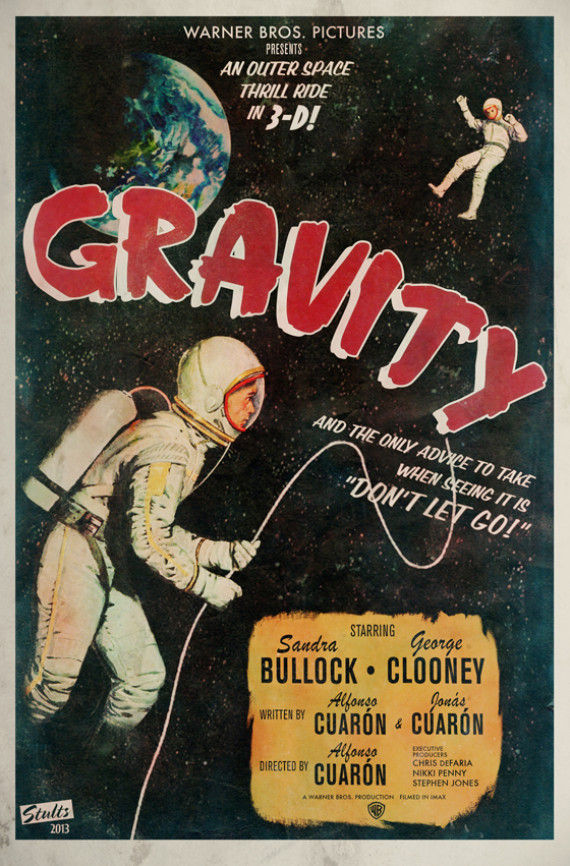 This Is What The Gravity Movie Posters Should Have Looked Like