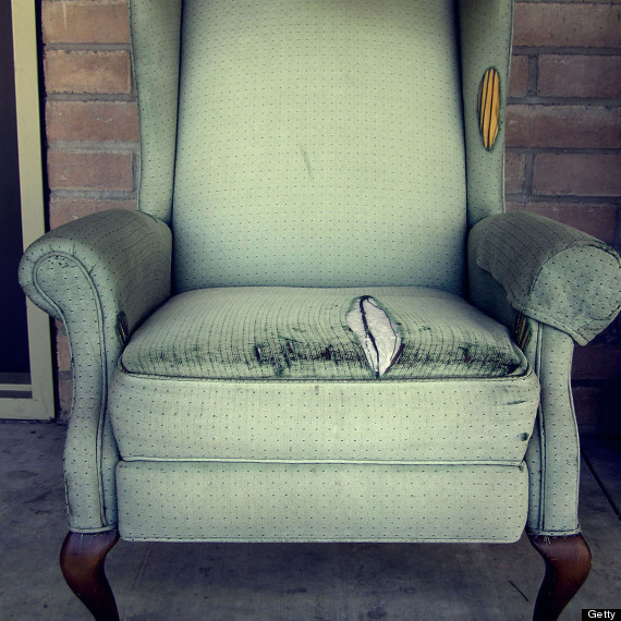 old easy chair