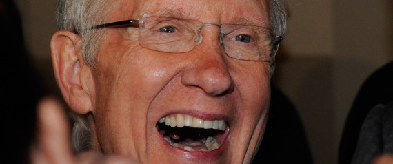 HARRY REID SMILE