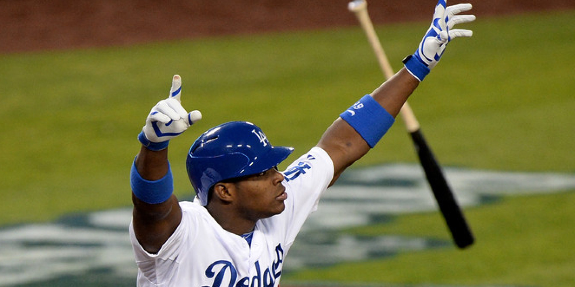 The gallery for --> Yasiel Puig Bat Flip Background