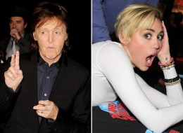 paul mccartney miley cyrus