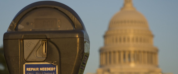 SHUTDOWN CAPITOL PARKING METER