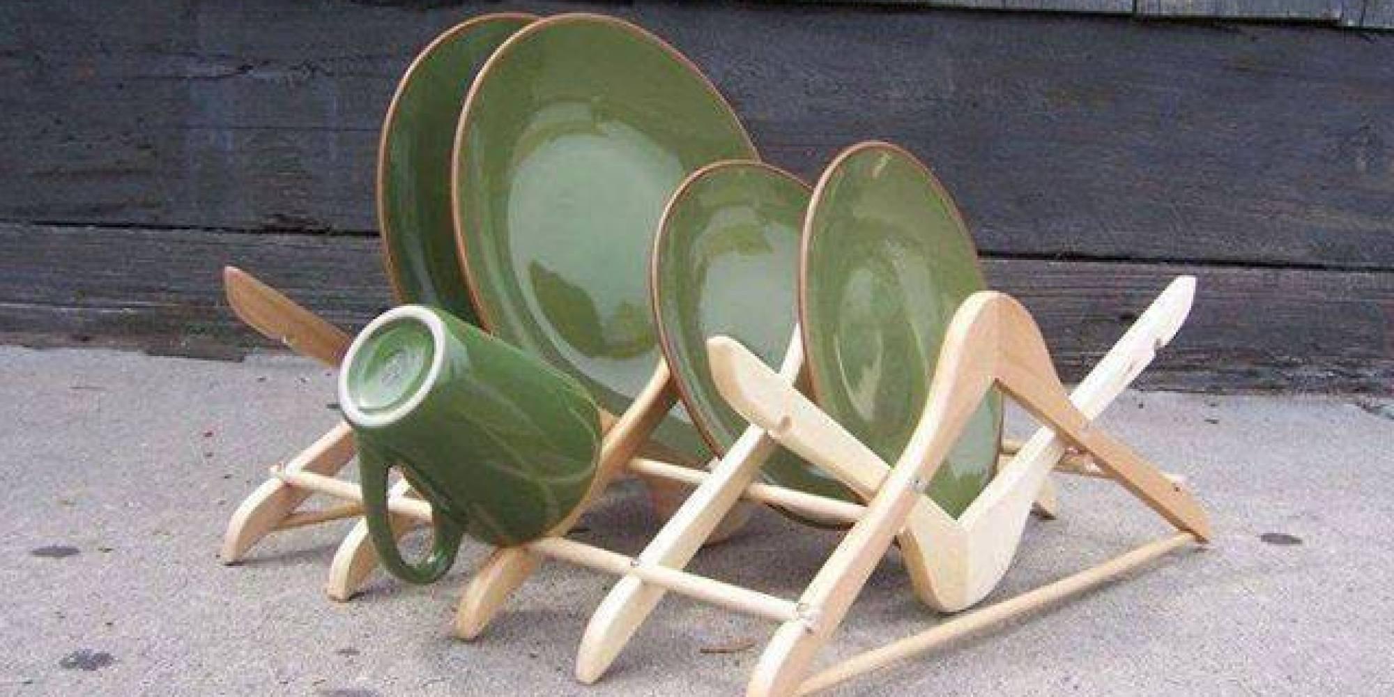 arredamento giardino riciclo: tavolo con panca in legno per ... - Idee Arredamento Riciclato