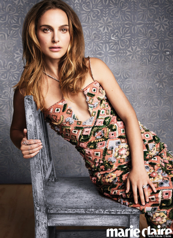 Natalie Portman Shows Some Skin Looks Gorgeous In Marie