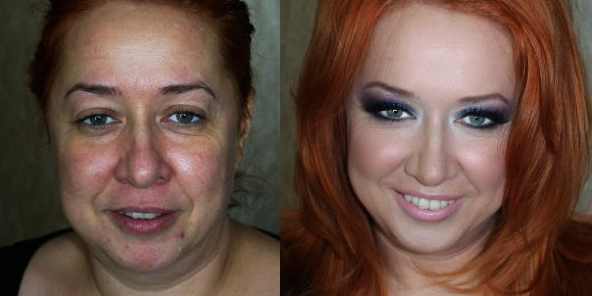 Before-And-After Makeup Photos Make Women Unrecognizable (PHOTOS)