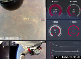 WATCH: Spectacular New Video Of Felix Baumgartner's Edge-Of-Space Leap