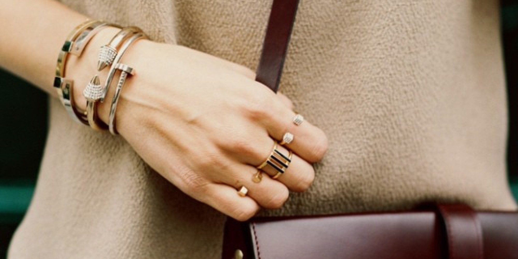 How To Wear Stackable Rings Without Looking Like Mr. T