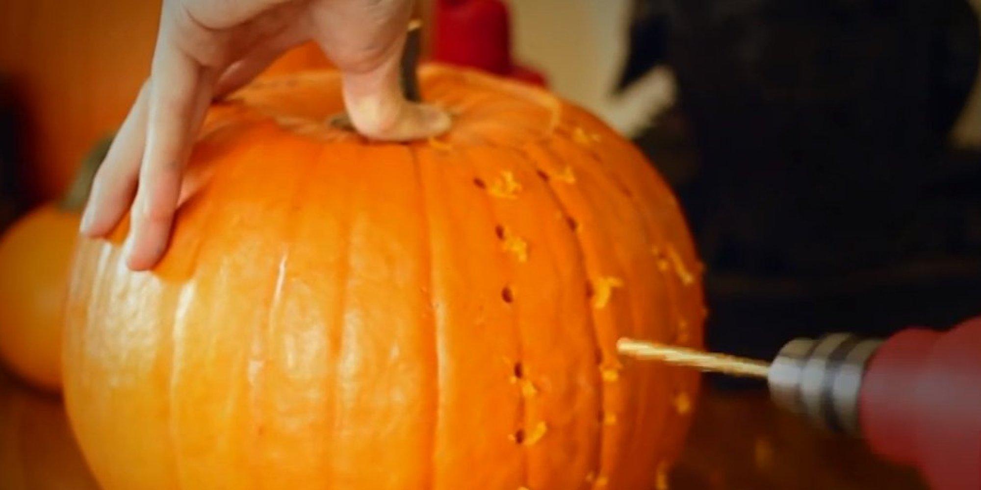 Pumpkin Carving Hacks That