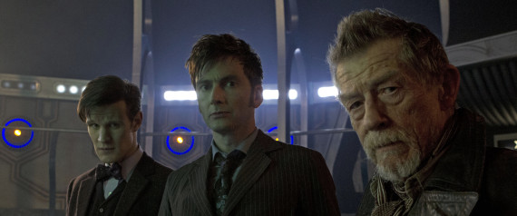 DOCTOR WHO 50TH ANNIVERSARY SPECIAL PHOTOS