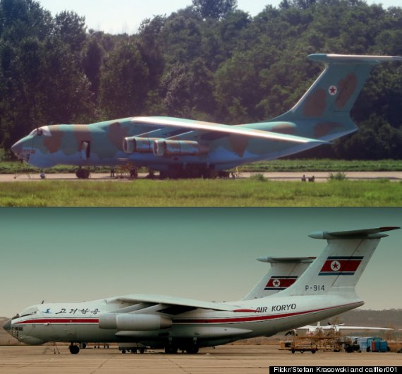 north korea planes