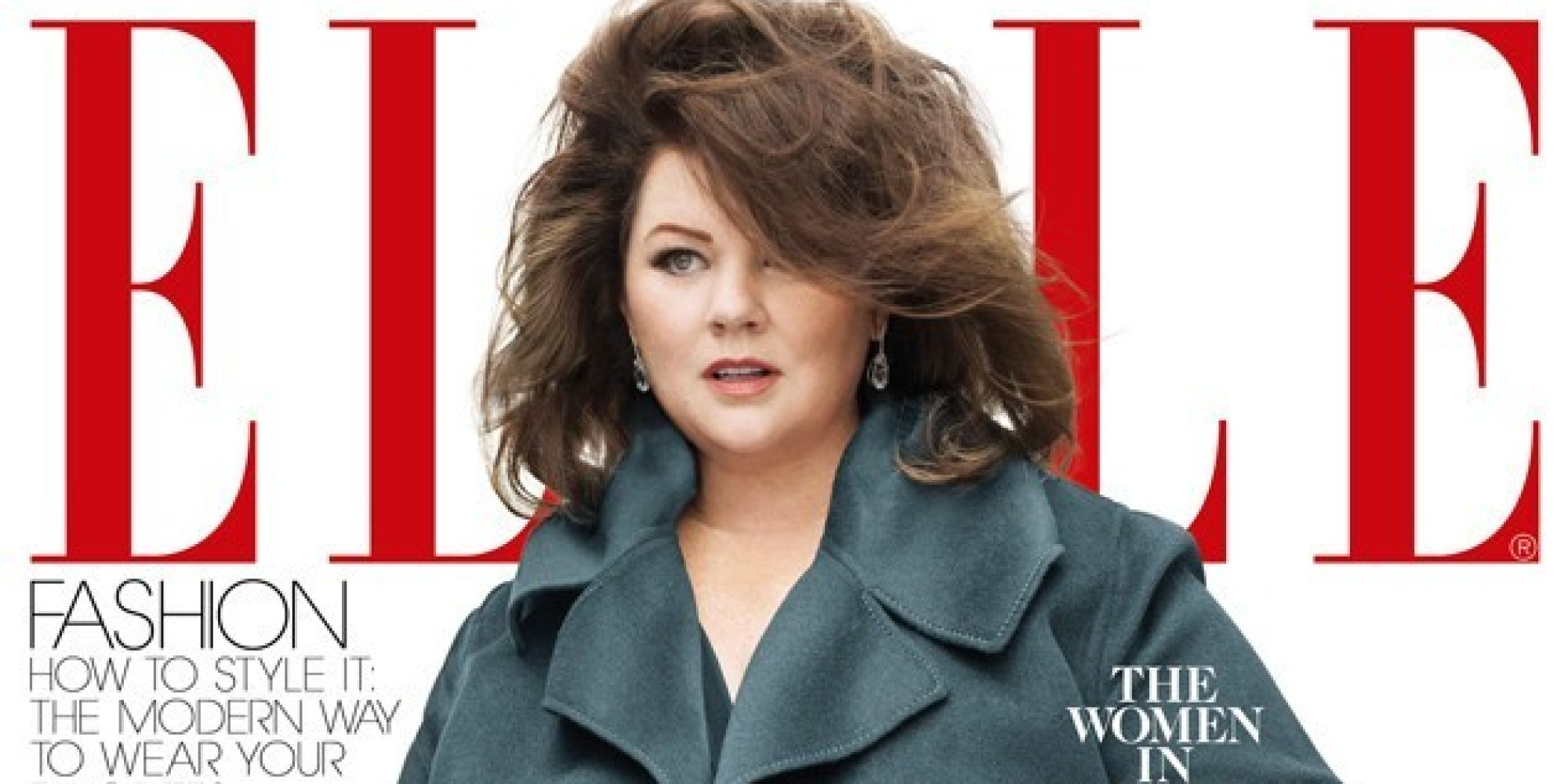 melissa mccarthy responds to  u0026 39 elle u0026 39  magazine  u0026 39 jacketgate