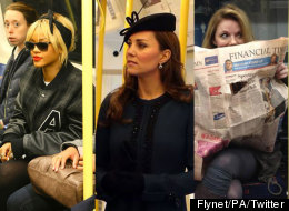 Celebs On Public Transport (PICS)