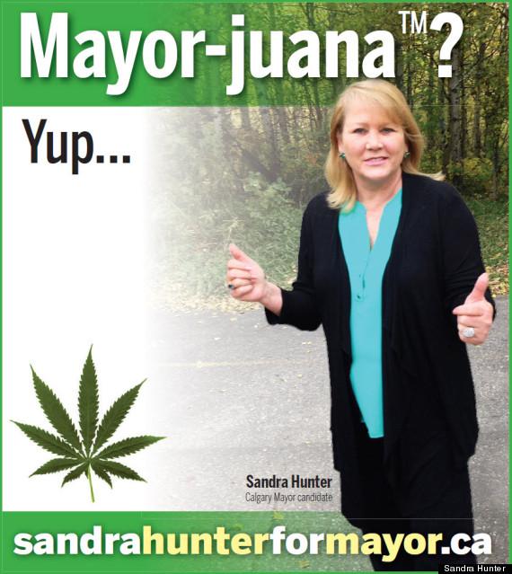 sandra hunter mayorjuana