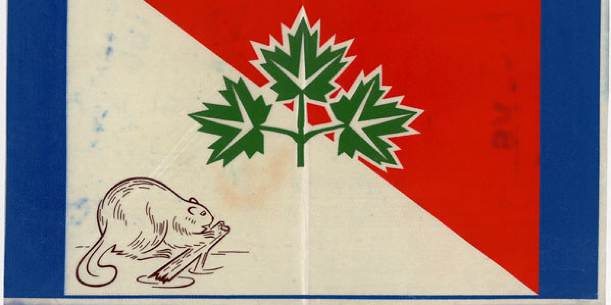 awesome canadian flag designs that got cut photos