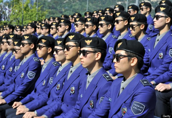south korea tourist police