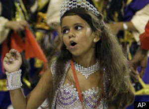 Samba queen role too sexy for 7-year-old?