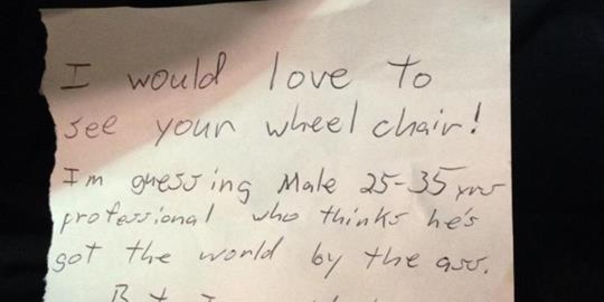 This Woman Wrote The Perfect Response To A Note Left For