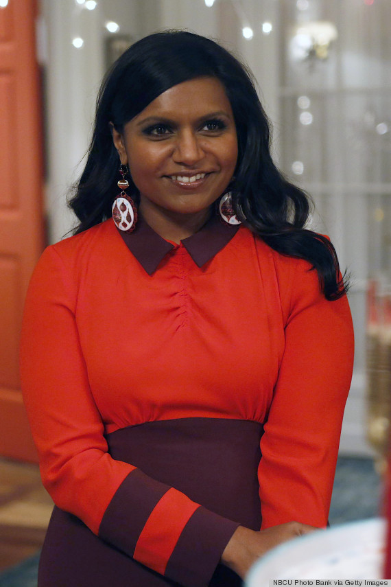 Mindy Project Costume Designer Those Are Some Beautiful Custom Made Scrubs Huffpost